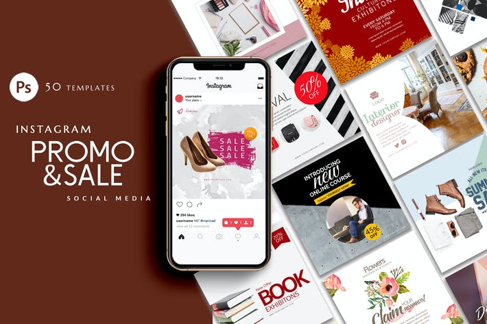 Thumbnail for Instagram Branding and Promotional Template