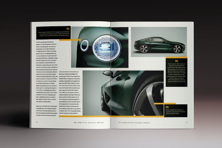 Thumbnail for Multipurpose Magazine 4 Indesign Template