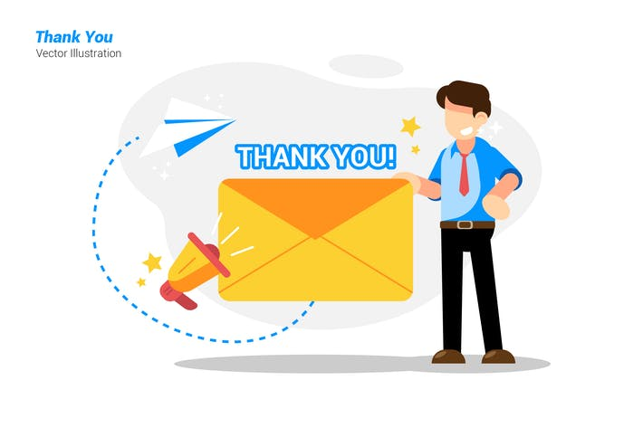 Thank You - Vector Illustration