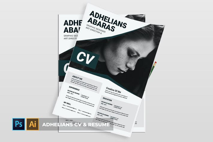 Thumbnail for Adhelians | CV & Resume