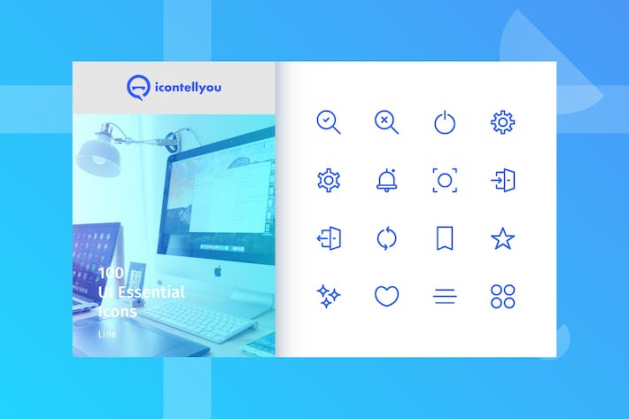 Thumbnail for Icontellyou - UI Essential (Line)