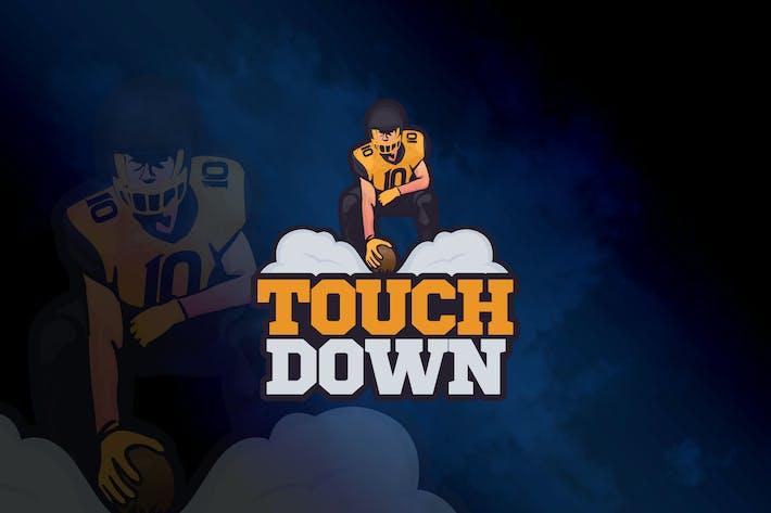 Thumbnail for Touchdown - Mascot & eSport Logo Template GR