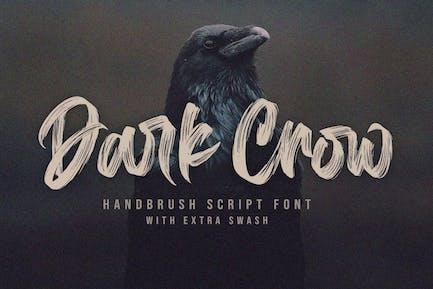 Dark Crow - Fuerte cepillo fuente