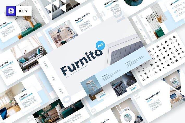 Thumbnail for Furnita Pro - Furniture Keynote Template