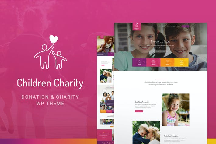 Thumbnail for Children Charity - Nonprofit & NGO WordPress Theme