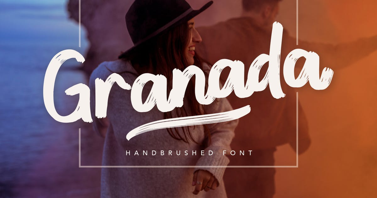 Download Granada Hand brushed Font by peterdraw