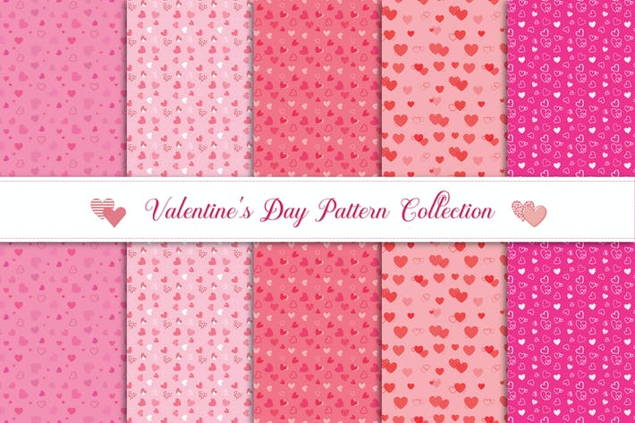 Thumbnail for Valentine's Day Pattern Collection  v1