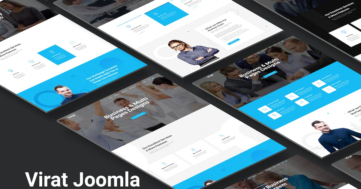Download Virat - Joomla Website Template With Page Builder by codelayers