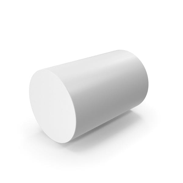 Цилиндр белый