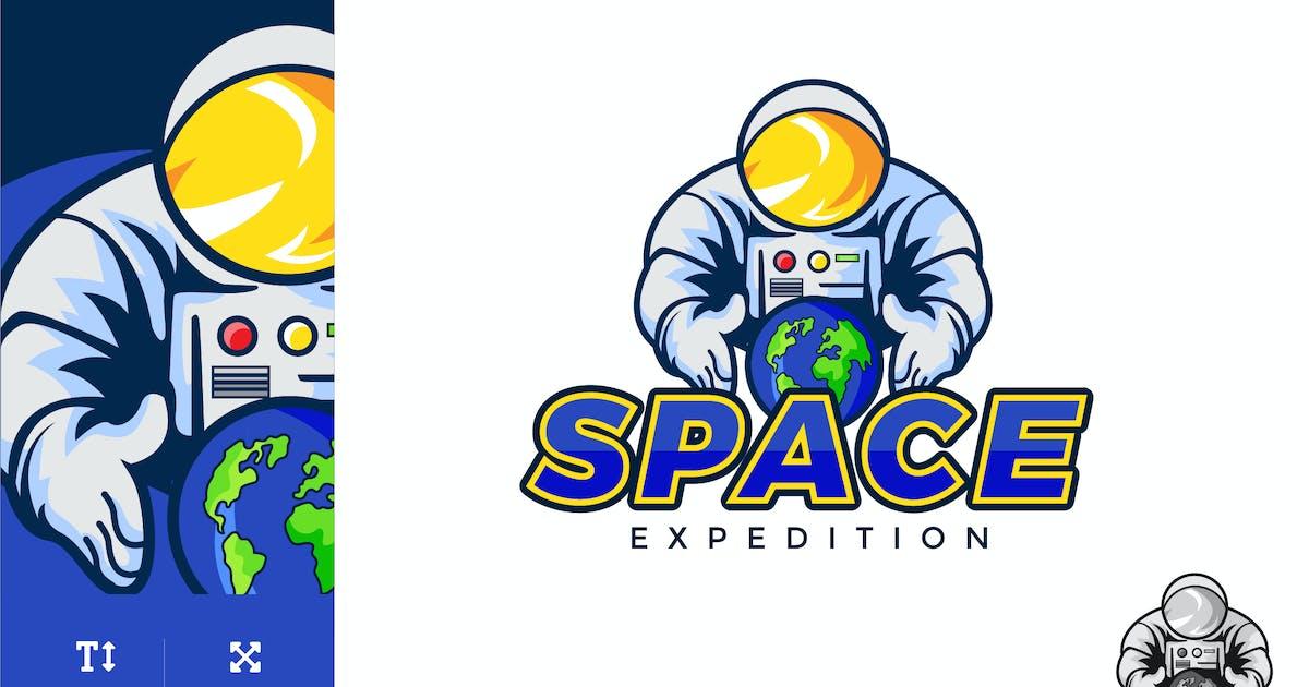Download Space Astronaut Logo Illustration Vector by naulicrea