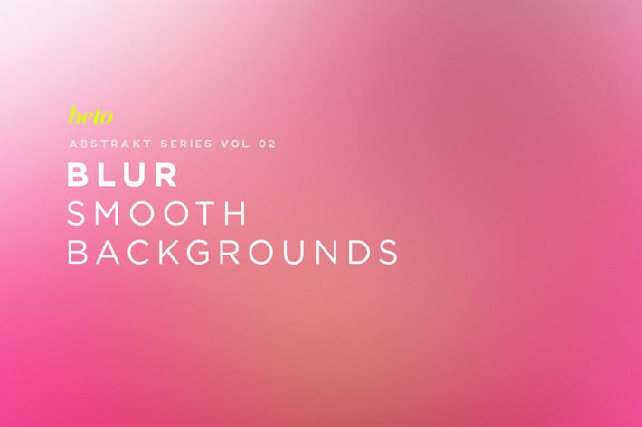 Cover Image For Blur - Smooth  Backgrounds V2