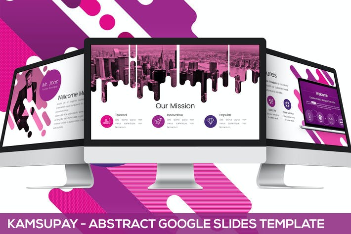 Thumbnail for Kamsupay Google Slides Template