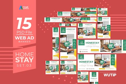 Web Ad Banners - Homestay 03