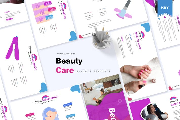 Thumbnail for Beauty Care | Keynote Template
