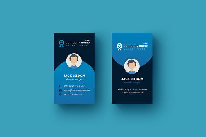 Thumbnail for Creative - Business Card Template