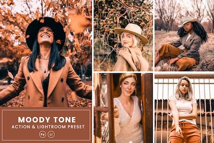 Moody Fx Photoshop Action & Lightrom