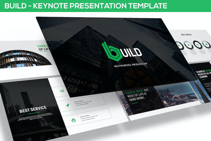 Thumbnail for Build - Keynote Template