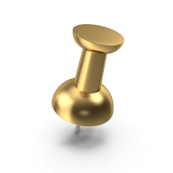 Push Pin Gold