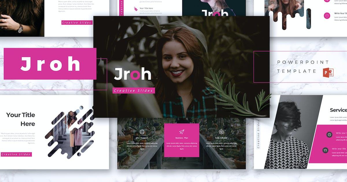 JROH - Creative Powerpoint Template by RahardiCreative
