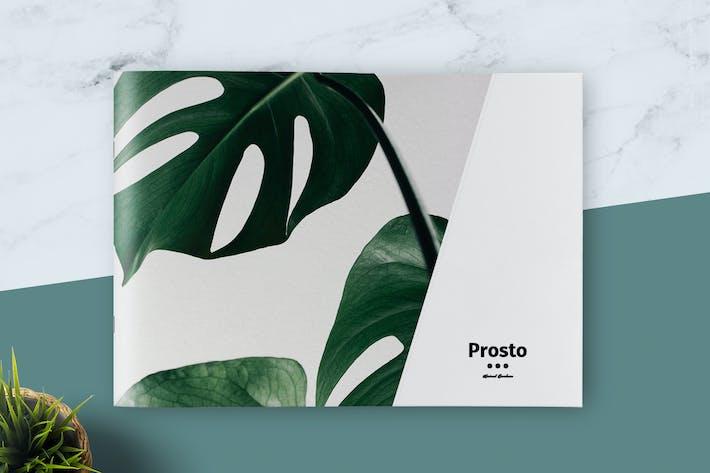 Cover Image For Prosto Brochure