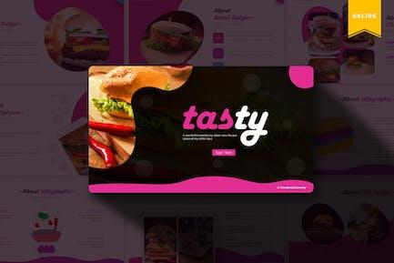 Tasty   Google Slides Template