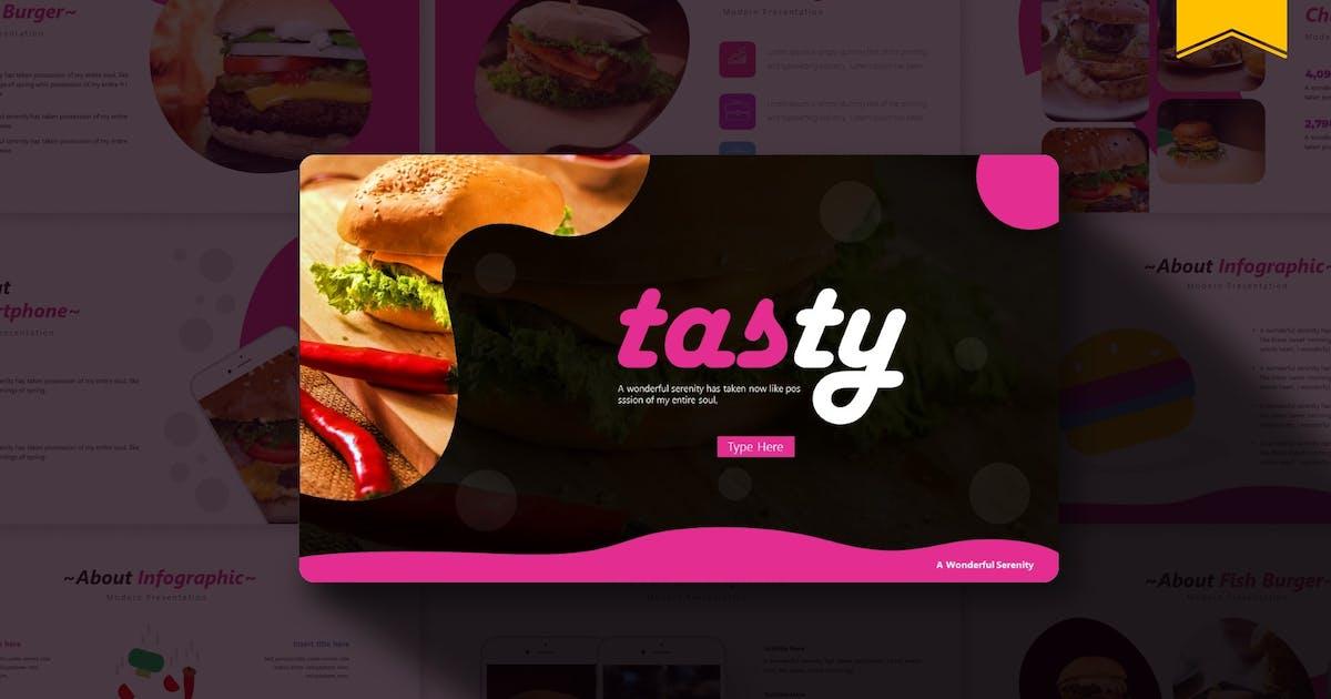 Download Tasty   Google Slides Template by Vunira