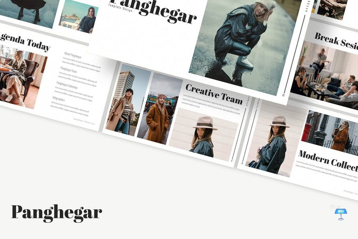 Thumbnail for Panghegar - Keynote Template