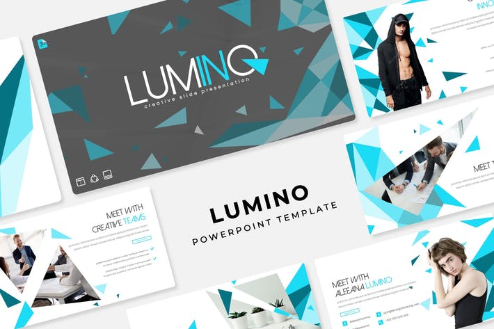 Thumbnail for Lumino - PowerPoint Template
