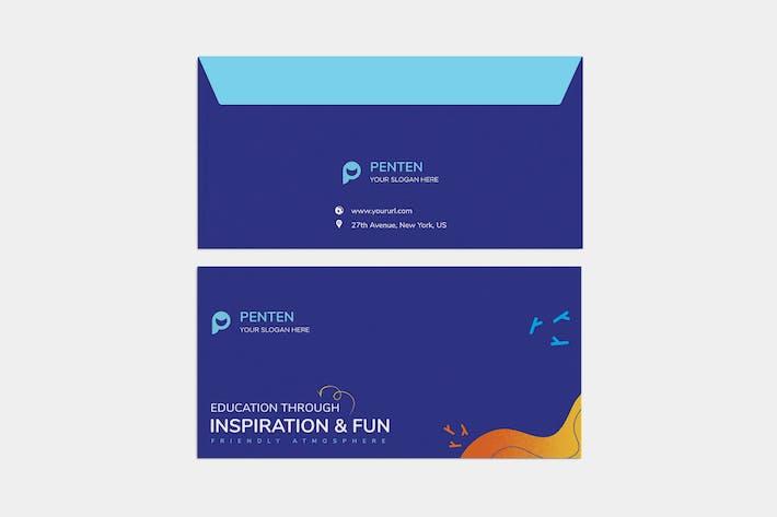 Thumbnail for Kids Envelope PSD Template