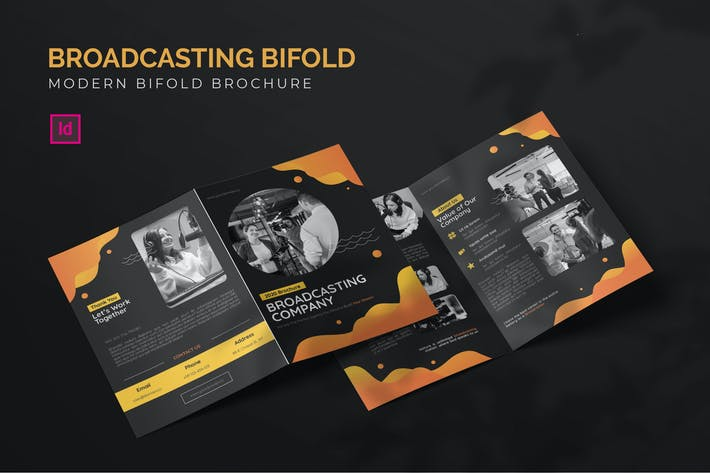 Thumbnail for Broadcasting Company - Bifold Brochure