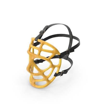 Pretzel Goalie Mask Worn