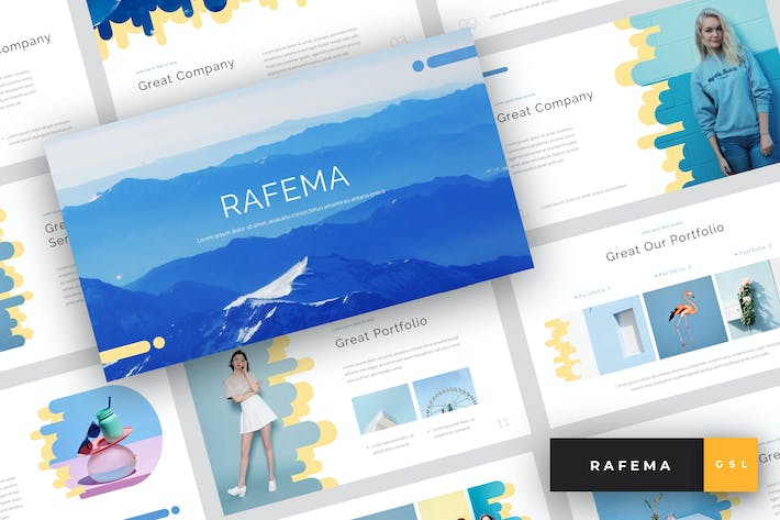 Cover Image For Rafema - Google Slides Template