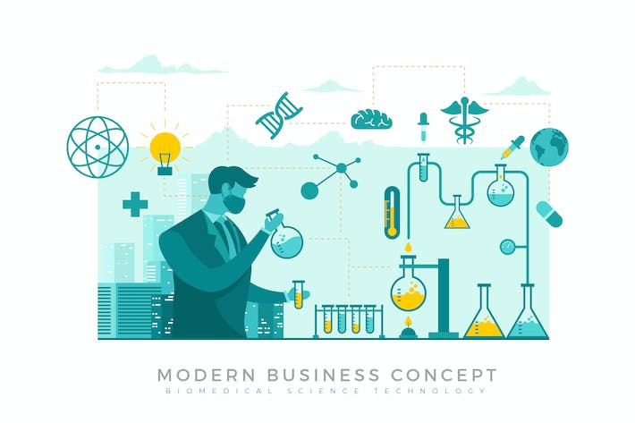Thumbnail for Biomedical Science Modern Business Concept
