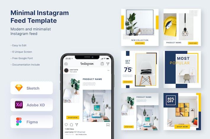 Thumbnail for Minimal & Professional Instagram Post