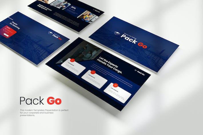 Thumbnail for Pack Go Google Slides Templates