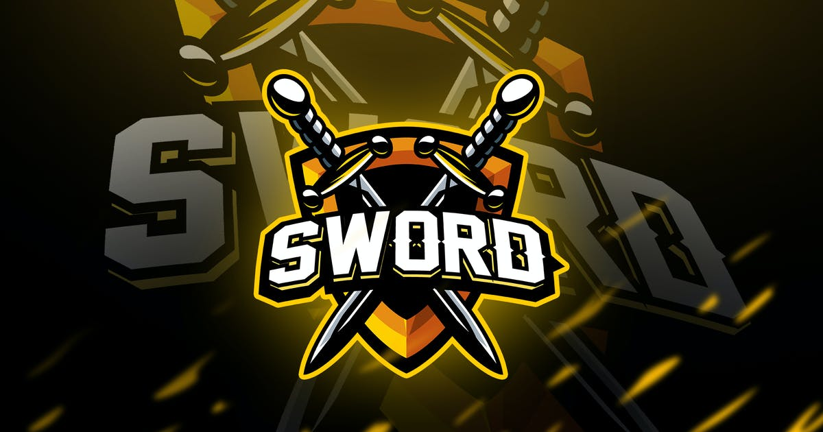 Download sword - Mascot & Esport Logo by aqrstudio