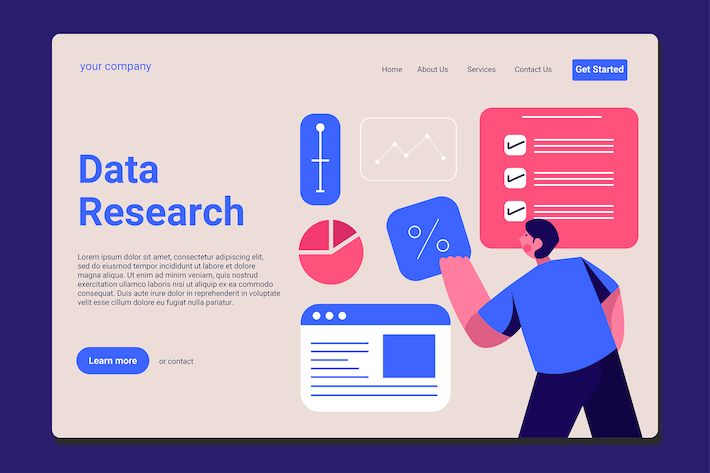 Thumbnail for Data Analyst - Landing Page