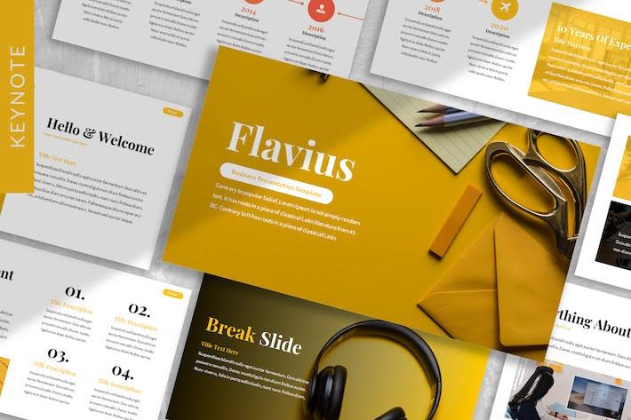 Thumbnail for Flavius - Creative Agency Keynote Template