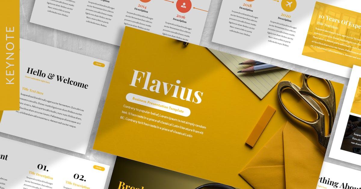 Download Flavius - Creative Agency Keynote Template by designesto