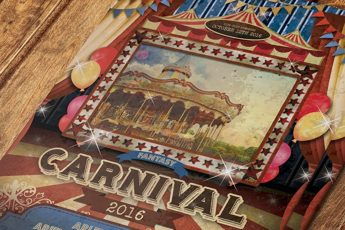 Thumbnail for Vintage Carnival Flyer