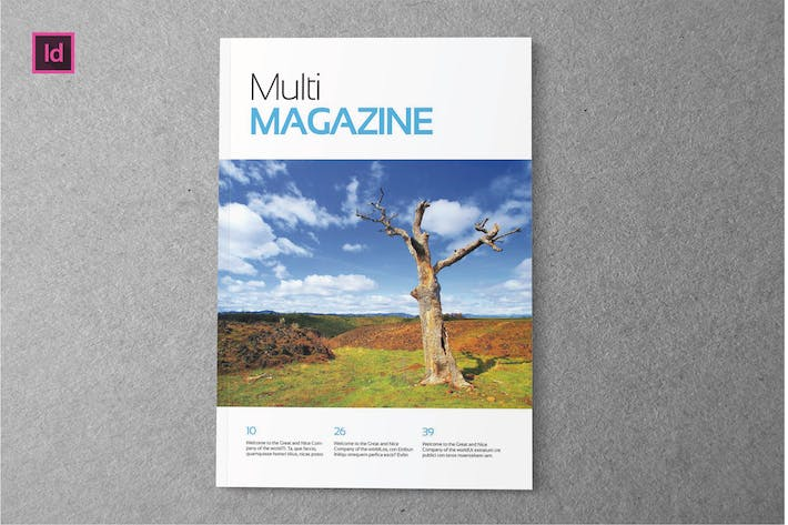Thumbnail for MULTI - Magazine Template