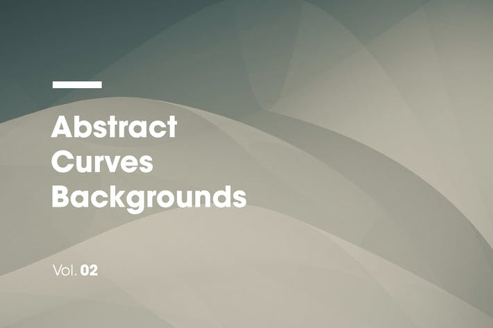 Thumbnail for Abstract Curves Backgrounds | Vol. 02