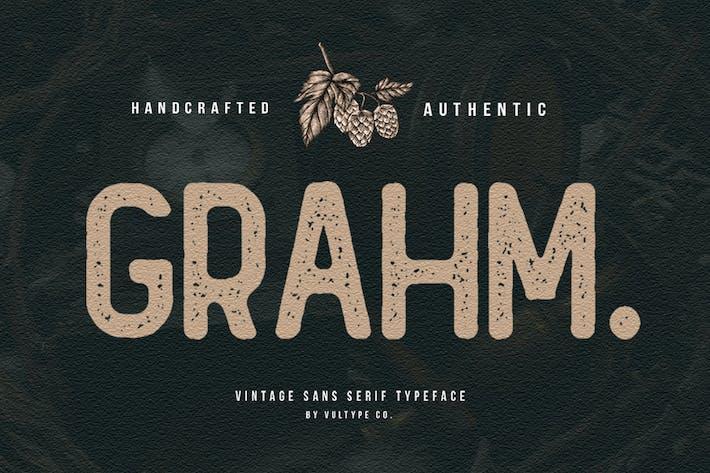 Thumbnail for Grahm Rough Font