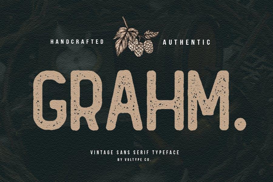 Grahm Rough Font