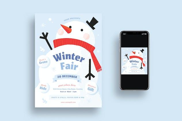 Winter Fair Flyer * Social Media