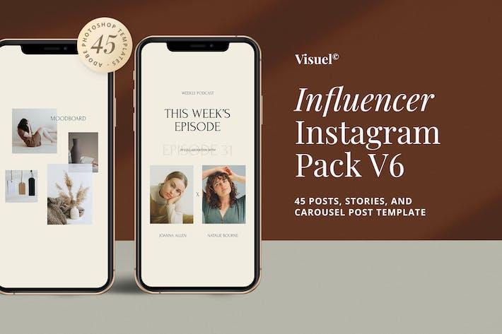 Thumbnail for Influencer Social Media Kit v.6