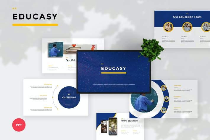Thumbnail for Modern Education PowerPoint Template