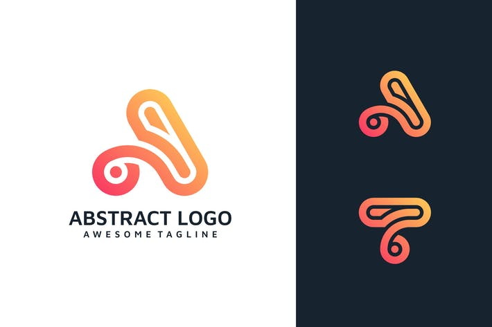 Thumbnail for ABSTRACT LETTER LOGO TEMPLATE