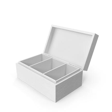 Monochrome Distressed Wood Box
