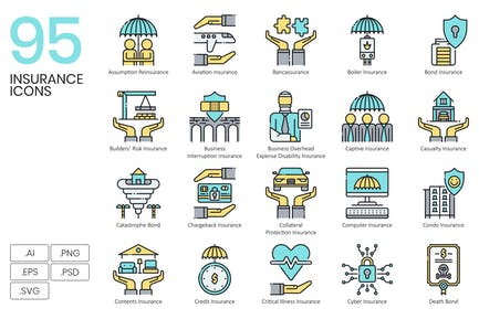 95 Insurance Icons & Finance Icons
